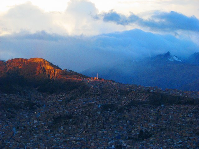 Approach to La Paz