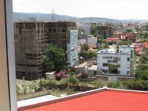 Building boom in Addis