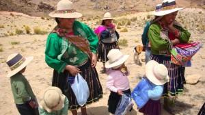 Bolivian Moms & Children
