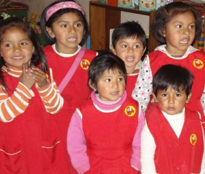 children at IPTK ECCE