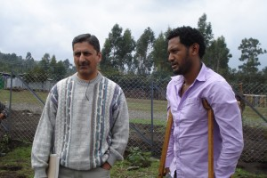 Faisal & Biniyam at Chancho