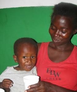 Micro-nutrient feeding program in Haiti.