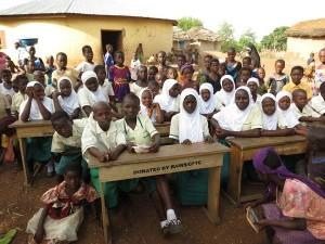 Zakaria Islamic Primary School students