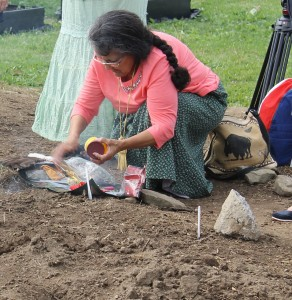 blessing of the garden at Elsipogtog