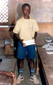 1. 2002 Receiving a gift from my sponsor