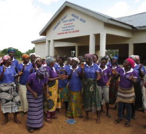 Sumbrungu's new craft centre, built with support of CFTC donors.