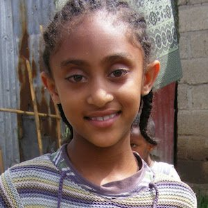 Yordanos, Sponsored child from Ethiopia